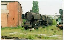 Poland; Steam Loco Ty43-111 At Gniezno Shed, 5-6-04 PC Size Photo