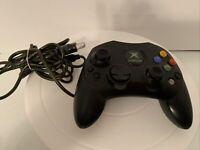 Original Microsoft Xbox S Controller Controller  X08-69873 Black With Breakaway
