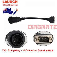 Original LAUNCH X431 Ssangyong-14 for PRO3 PRO SCANPAD PAD2 PAD IDIAG MASTER AU