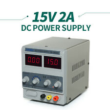 Profession Cellphone Repair Adjustable Variable DC Power Supply 15V 2A 1502DD
