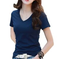 Women Tops Tees Summer Style Ladies Casual Under Shirts Short Sleeves For Women