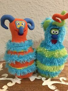 "🌿 Melissa & Doug Monster Bowling Plush Pins Stuffed Animal Toys 7"" (B4)"