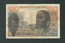 French West Africa - NIGER - 100 Francs  1965