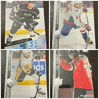 2020-21 UD Upper Deck Series 1 Hockey - Base Stars Young Guns - Pick Your Card!