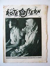"""""""Der Rote Stern"""" Januar 1931?? Nr 2_Illustrierte Arbeiterzeitung der KPD"""