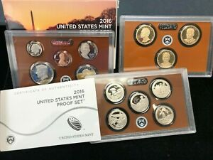 2016-S United States Mint Proof Set - 13 Coin Set!