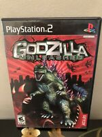 Godzilla Unleashed PlayStation 2 PS2 Complete Manual Included