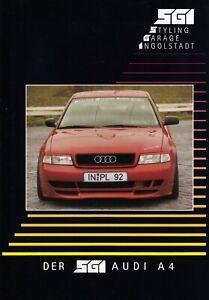 AUDI A4 S4 B5 SGI Styling Garage Tuning Prospekt Brochure 1998 94