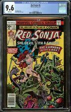RED SONJA #4 (1977) CGC 9.6 CONAN SHE-DEVIL NEWSSTAND EDITION MARVEL