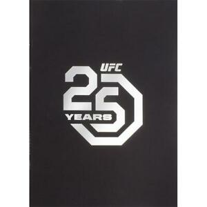 UFC 25th Anniversary EXCLUSIVE COMMEMORATIVE PROGRAM Limited Edition PPV
