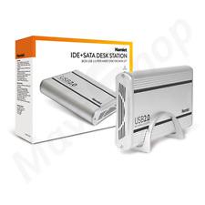 """Box Esterno Hamlet Hard Disk SATA o IDE da 3.5"""" USB 2.0 Dual Controller 480 Mbps"""