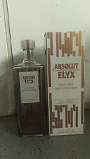 Absolut ELYX Vodka 4.5L Display Glass Empty GIANT BOTTLE