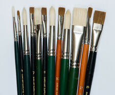 Oil Painters Brush Set Sables & Hog Hairs List $190 NOW $59 FREE SHIPPING MONDAY