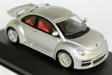 Ixo 1/43 Scale - MOC012 VW Beetle RSi 2000 Metallic Silver Diecast Model Car