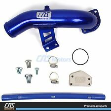 Egr Delete Kit & High Flow Intake for 04.5-05 Gmc Sierra 6.6L Diesel Lly Duramax
