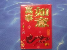 Chinese Happy New Year Lucky Red Envelopes - ( 6 Envelopes / bag ) # best wishes