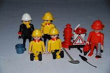 Playmobil 3525 de 1986 d) Bomberos pompiers