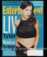 LIV TYLER Lollapalooza METALLICA Tracey Bonham KRISTEN JOHNSTON 1996 EW magazine