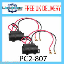 VW Volkswagen Golf MK4 Polo Passat Bora Altavoz Cable Adaptador Cable PC2-807 Par