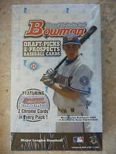2005 Bowman Draft Picks & Prospects Hobby Box Factory Sealed 24ct