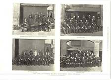 1893 The Fire Tournament Agricultural Hall Islington Team Photographs