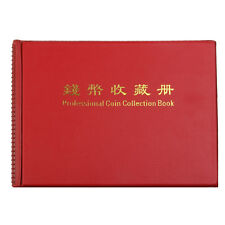 10-Page 240 Holders Money Penny Collection Pockets Coin Storage Album Book NEW