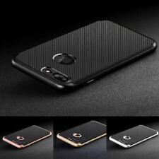 Luxury Carbon Fibre Bumper Hard Back Case Cover For Apple iPhone 10 X 8 7 6s 5s