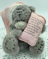 Me To You Tatty Teddy Bear 'Goodnight' Pink, Blue Nose, Carte Blanche