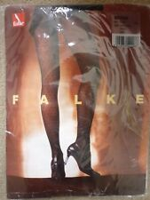NEW FALKE BLACK PATTERNED FASHION TIGHTS