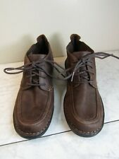 Clarks Collection Brown Chucka Leather Lace Up Ankle Boot Women's Size 8 EU 39