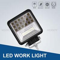 126W LED Fernscheinwerfer Arbeitsscheinwerfer 12V For PKW LKW SUV Auto Anhänger