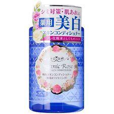Meishoku Organic Rose Skin Conditioner Whitening Astringent Toner 200mL