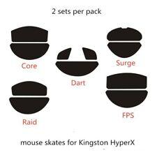2 Sets Mouse Feet Mouse Skates For Kingston HyperX Pulsefire Surge Dart FPS Core
