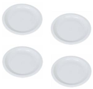 "Pack of 4 Microwave Safe Plates 10"" BPA FREE Dishwasher Safe FREE SHIPPING"