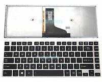 New Original for Toshiba Satellite U40-A U40T-A U45-A U45T-A Keyboard Backlit US