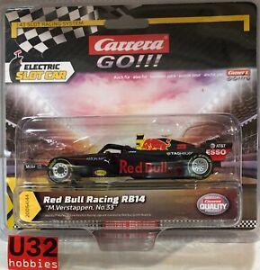 Carrera Go 64144 Red Bull Racing RB14 #33 F1 M.Verstappen