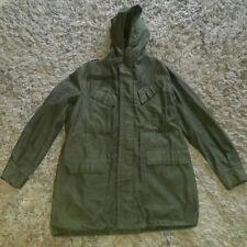 Vintage BELGIAN SEYNTEX 1986 4B Military Hooded Jacket ABL 8090 9505~Great Shape