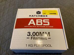HATCHBOX ABS 3D Printer Filament, +/- 0.05 mm, 1 kg Spool, 3mm, GLOW IN THE DARK