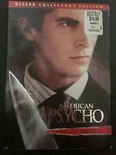 American Psycho (DVD, 2005, Killer Collector's Edition- Uncut Version)