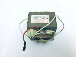 GE Microwave Model JVM1540SM5SS  Transformer High Voltage P/N 6170W1D052Z