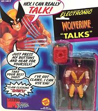 Vintage 1991 Marvel Comics~WOLVERINE ~ Super Heroes Figure ToyBiz ~ Talks ~ MOC~