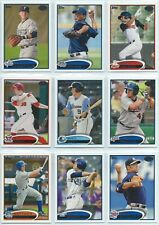 2012 Topps Baseball Pro Debut Base Cards 1-110 You Pick the Card Finish Your Set