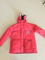 NWT Canada Goose EXPEDITION PARKA RED MENS JACKET L AUTHENTIC HOLOGRAM 4565M
