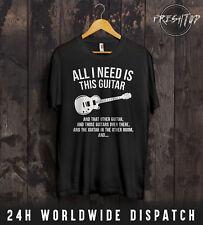 Guitar T Shirt Guitarist Gibson Fender Esquire Guitarist Band Electric Slash