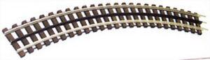 "Gargraves WT-80-102 O Gauge 3 Rail Phantom Stainless 80"" Curve Wood Tie"