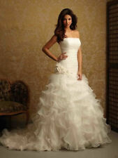 Satin Strapless Ball Gown/Duchess Wedding Dresses