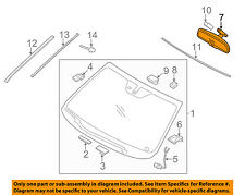 KIA OEM 12-16 Optima Inside-Rearview Rear View Mirror 851013X100
