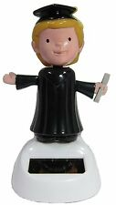 Graduate Dancing student Solar Bobblehead Toy Figure - Male