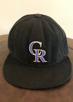 New Era 59 fifty Colorado Rockies On Field 7 3/8 Cool Base MLB Baseball Hat Cap