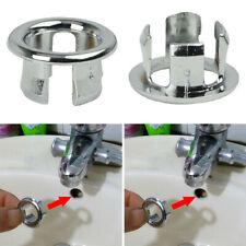 Bathroom Basin Sink Trim Round Spares Cover Cap Insert Overflow Ring Drain Hole